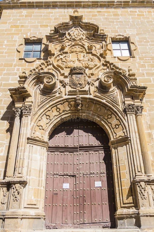 Église de la trinité sainte Santisima Trinidad, Ubeda, Espagne photo libre de droits