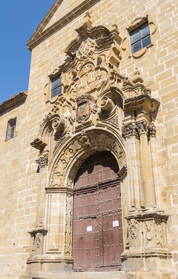 Église de la trinité sainte Santisima Trinidad, Ubeda, Espagne image stock