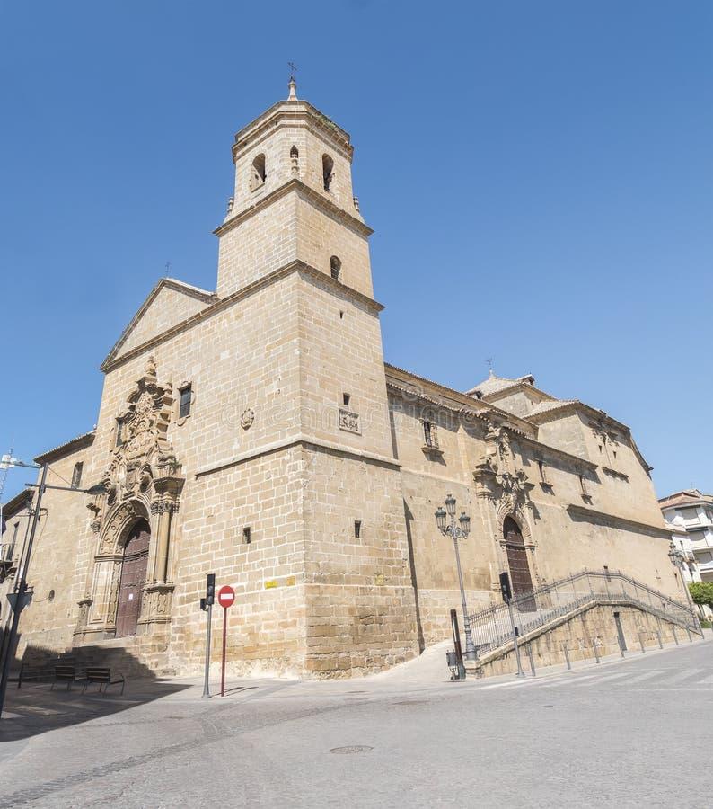 Église de la trinité sainte Santisima Trinidad, Ubeda, Espagne images libres de droits