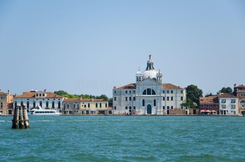 Église de Le Zitelle, présentation de della de Santa Maria sur l'île de Giudecca, Venise, Italie photo stock