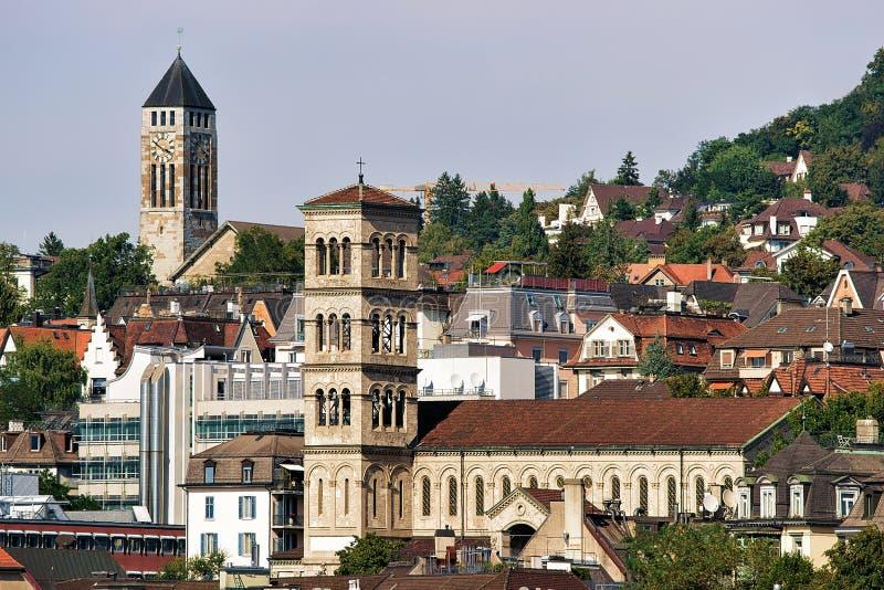Église de Liebfrauen à Zurich photo libre de droits