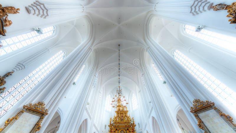 Église de lumière images libres de droits