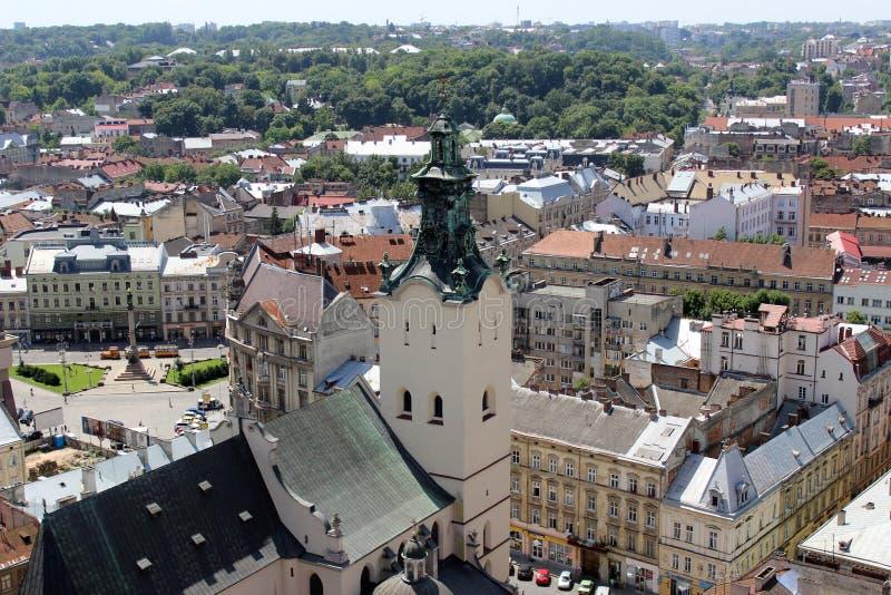 Église de Lviv photographie stock libre de droits