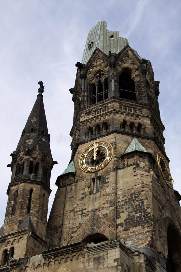 Église de mémorial de Kaiser Wilhelm. Berlin photographie stock libre de droits