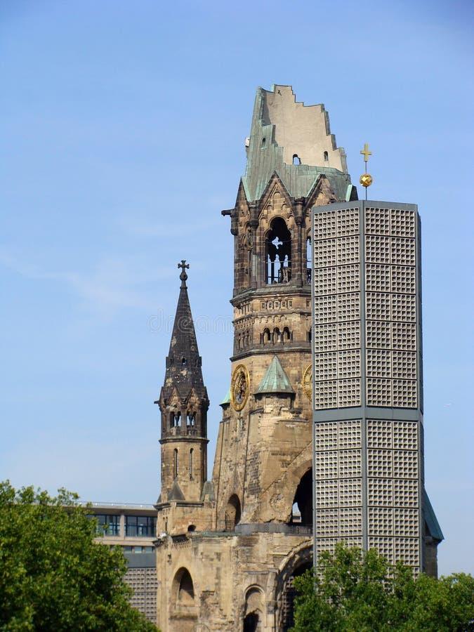 Église de mémorial de Kaiser William photo stock