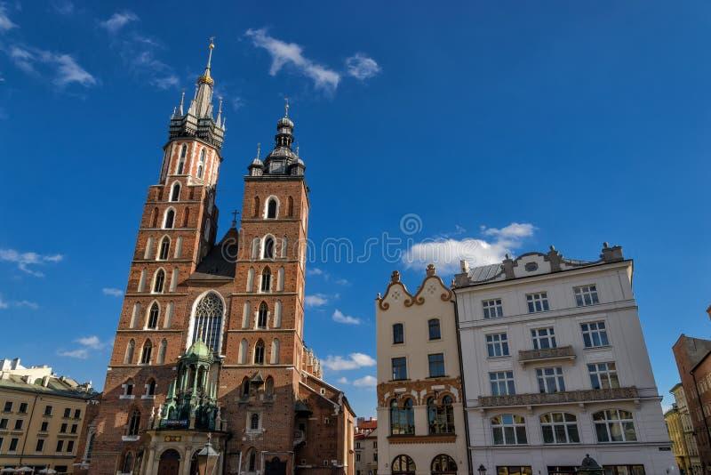 Église de Mariacki image stock