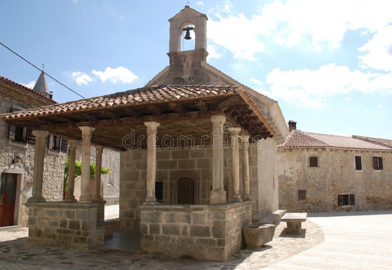 Église de Marys de saint dans Gracisce photographie stock libre de droits