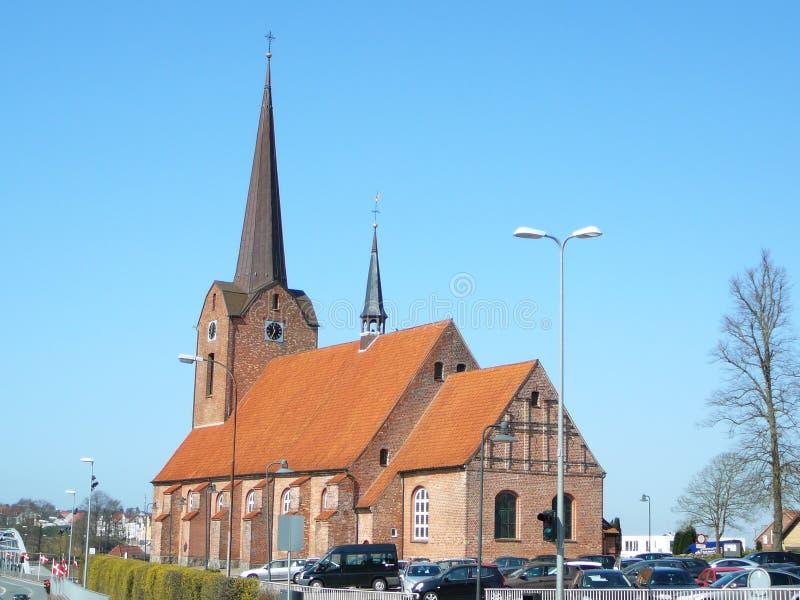 Église de Marys de saint au Danemark photos stock