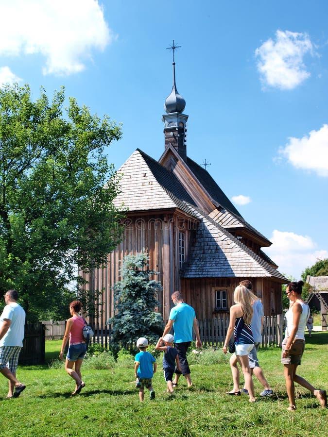 Église de Matczyn, Pologne photos stock
