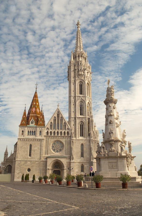 Église de Matthias à Budapest (Hongrie) images stock