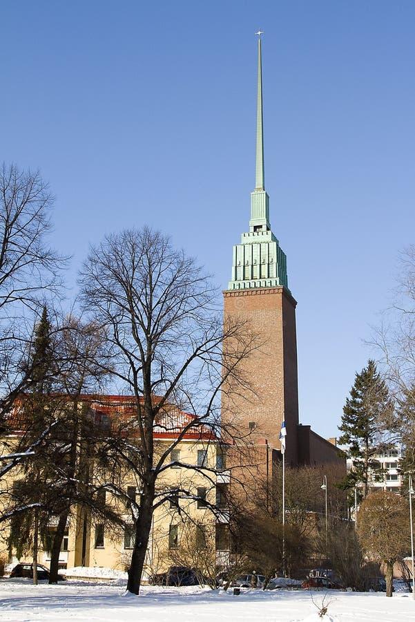 Église de Mikael Agricolan photo stock
