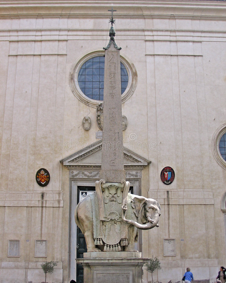 Église de Minerva de sopra Santa Maria photographie stock libre de droits