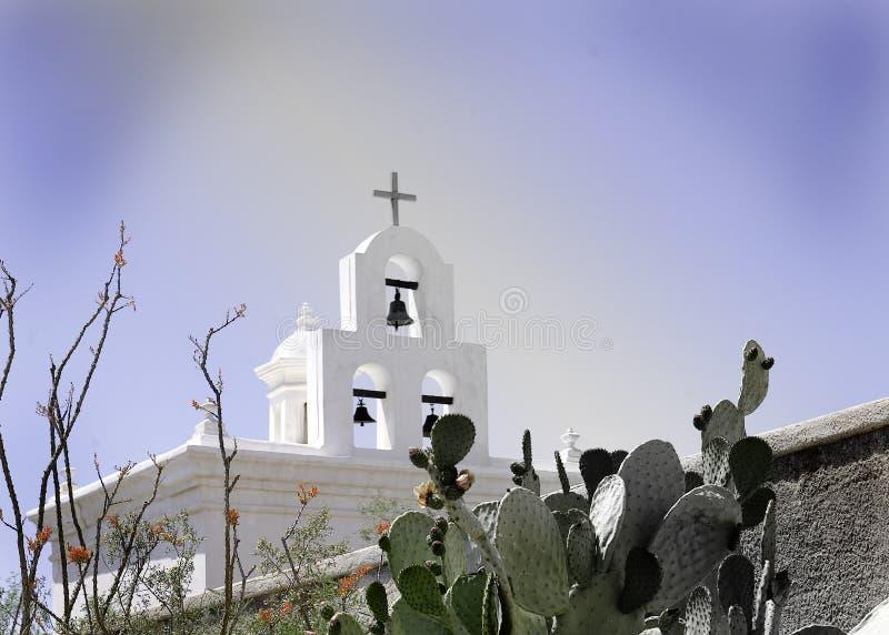 Église de mission de San Xavier photographie stock libre de droits