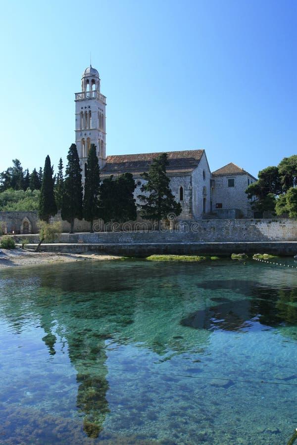 Église de monastère image stock