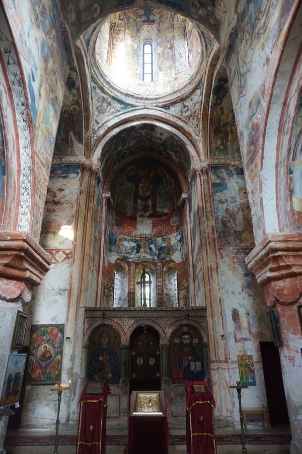 Église de monastère de Gelati image stock