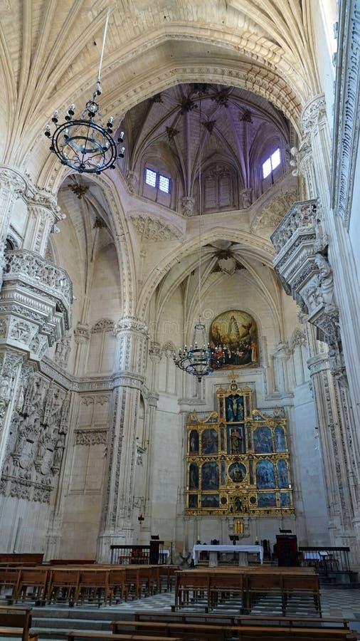 Église de Monasterio San Juan de los Reyes à Toledo photo libre de droits