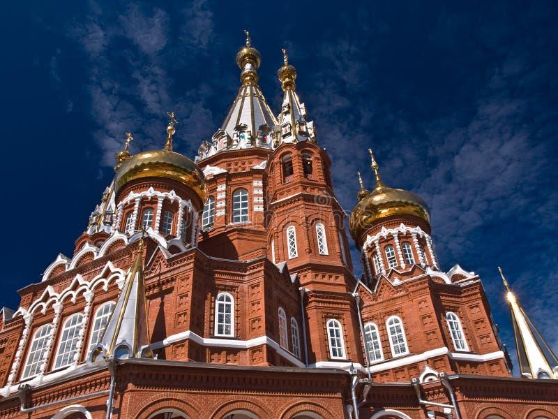 Église de Moscou image libre de droits