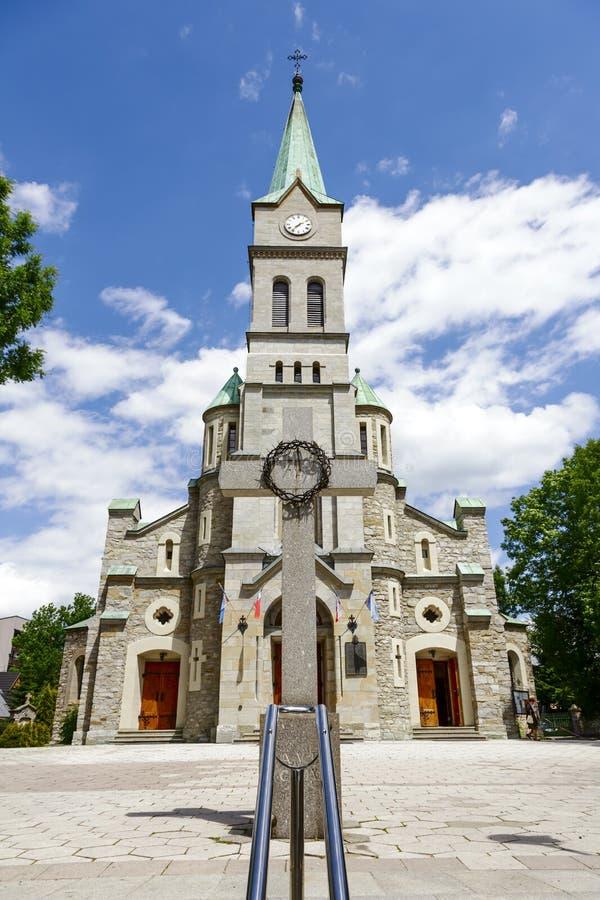 Église de Najswietszej Rodziny dans Zakopane photographie stock libre de droits