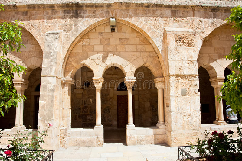 Église de nativité, Bethlehem. La Palestine, Israël photo stock