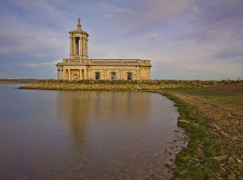Église de Normanton photographie stock libre de droits