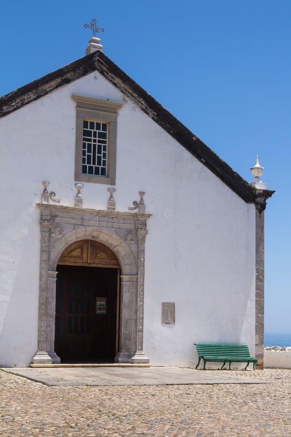 Église de Nossa Senhora DA Assuncao, Cacela Velha, Portugal photo libre de droits