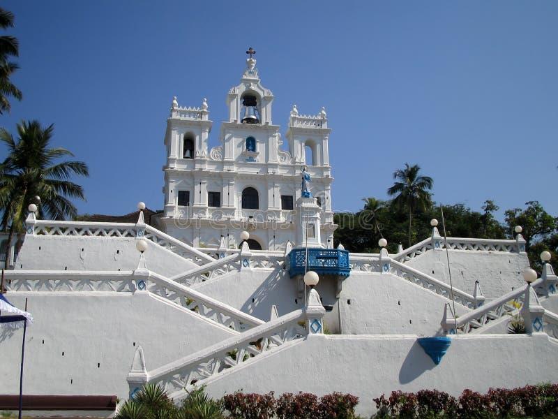 Église de notre Madame de la conception immaculée photo libre de droits