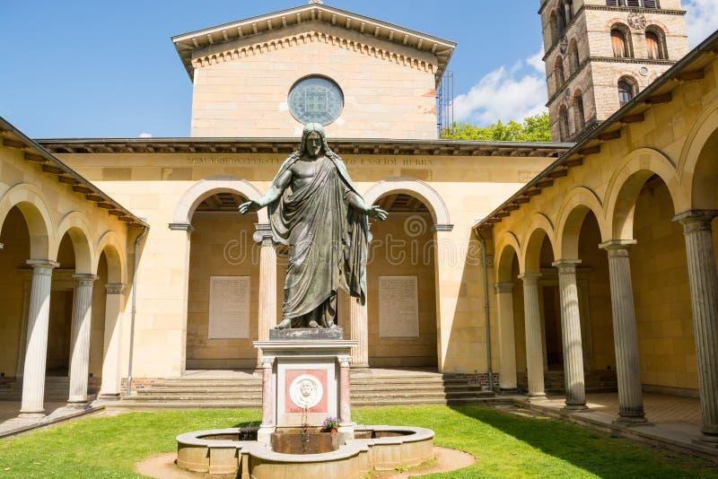 Église de paix, parc de Sanssouci à Potsdam, Allemagne images stock
