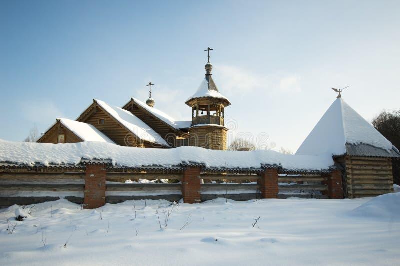 Église de Panteleimon le guérisseur au centre médical II dans Obn image libre de droits