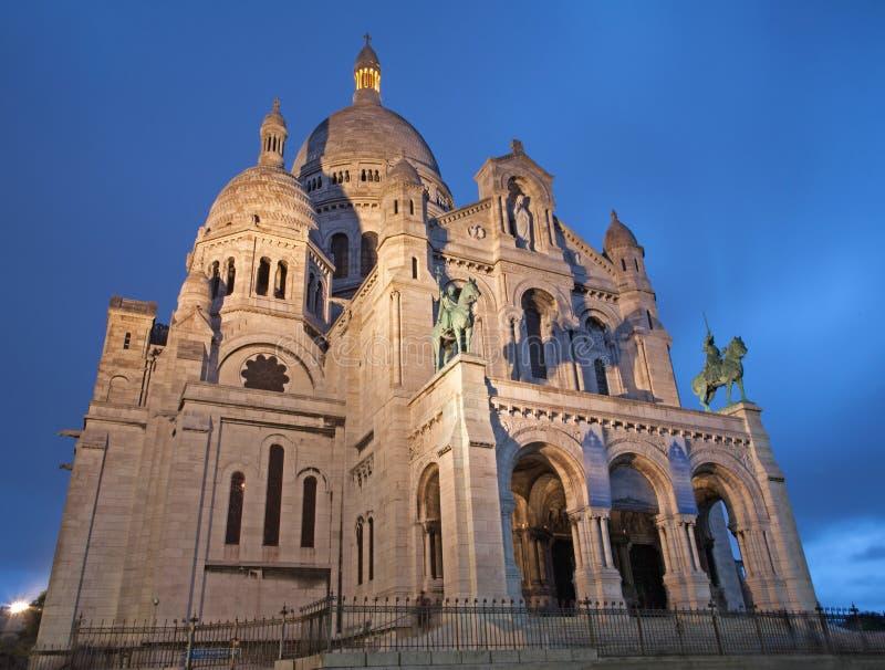 Église de Paris - de Sacre-couer photographie stock libre de droits