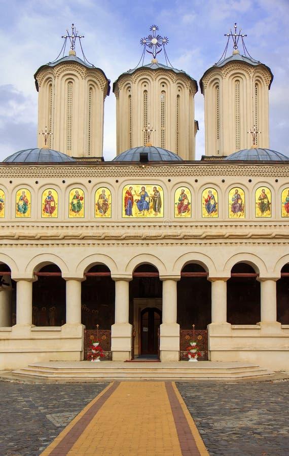 Église de patriarcat de Bucarest photographie stock