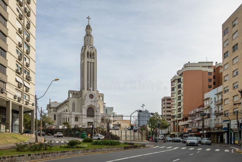 Église de Pelegrino de sao - Caxias font Sul, Rio Grande do Sul, Brésil photographie stock