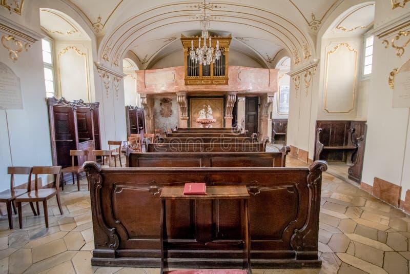 Église de Piarist à Vienne, Autriche photo stock
