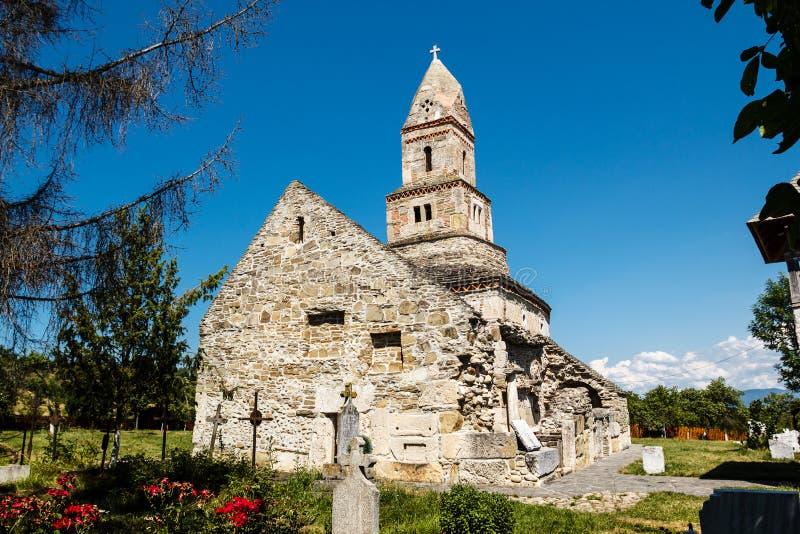 Église de pierre de Densus photos stock