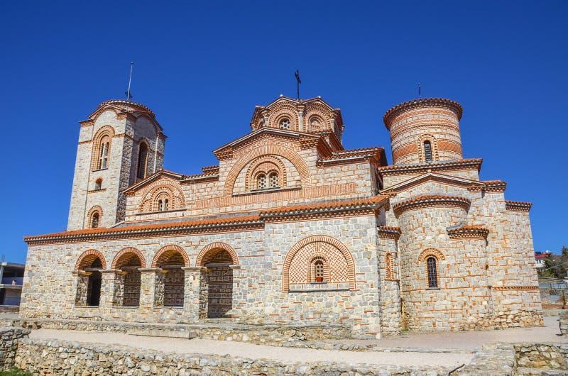 Église de Plaoshnik dans Ohrid, Macédoine - saint Panteleimon photos libres de droits