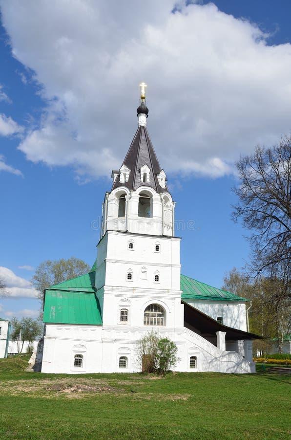 Église de Pokrovskaya dans Alexandrovskaya Sloboda, Alexandrov, région de Vladimir, anneau d'or de la Russie images libres de droits