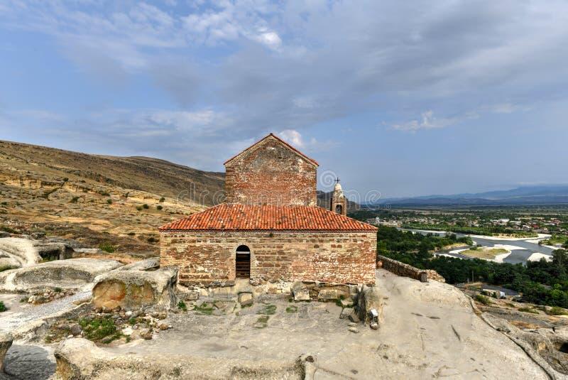 Église de prince - Uplistsikhe, la Géorgie image stock