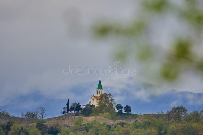Église de Puig-agut images stock