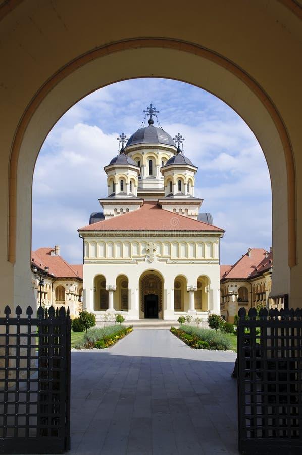 Église de réunification dans Iulia alba, Roumanie photographie stock libre de droits