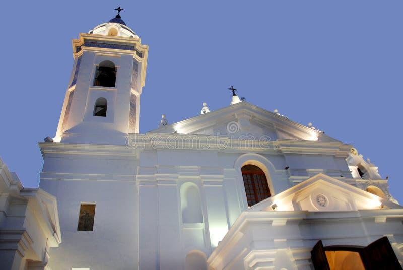 Église de Recoleta photographie stock