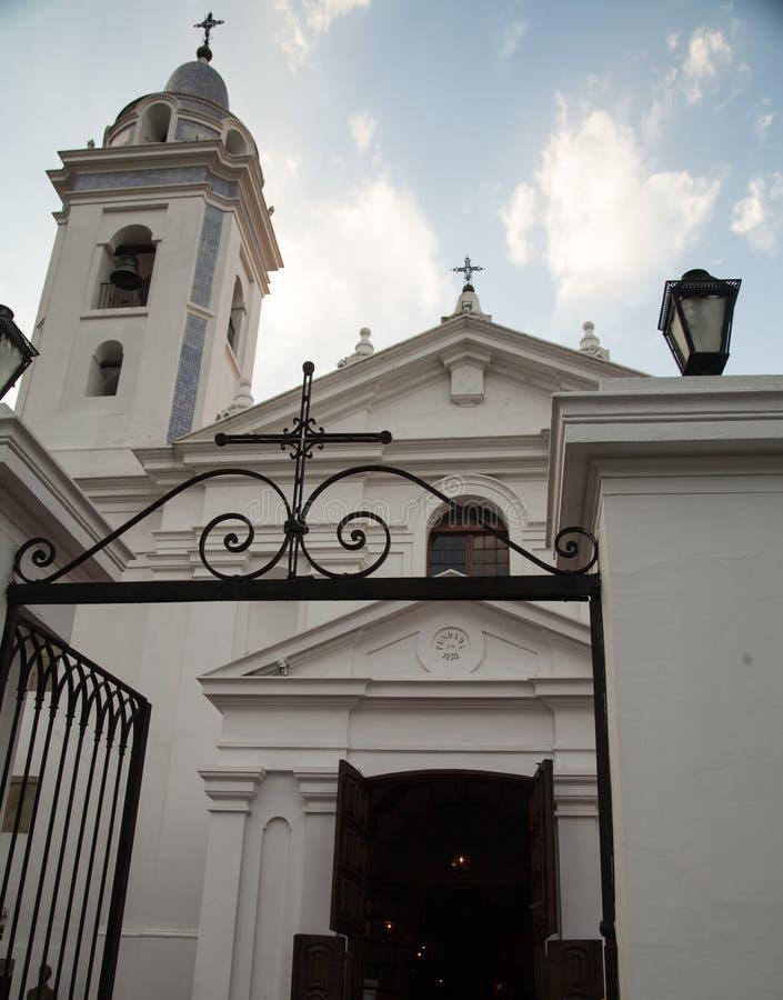 Église de Recoleta images stock