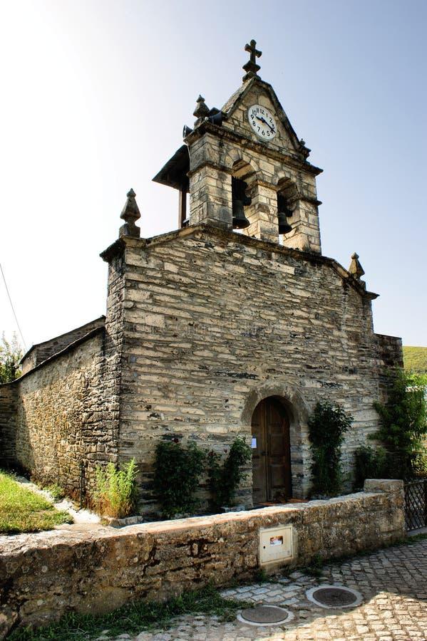 Église de Rio de Onor photographie stock libre de droits