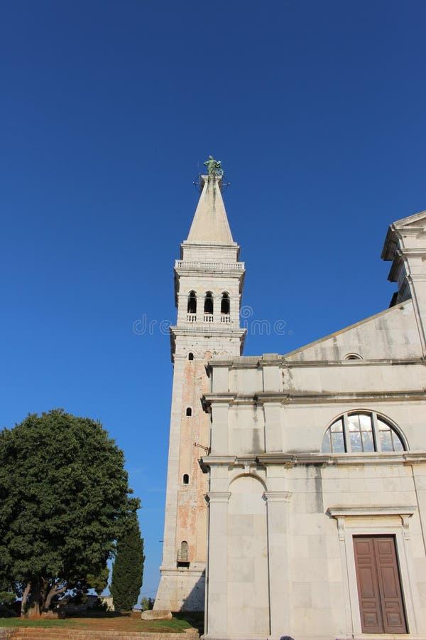 Église de Rovinj photo stock