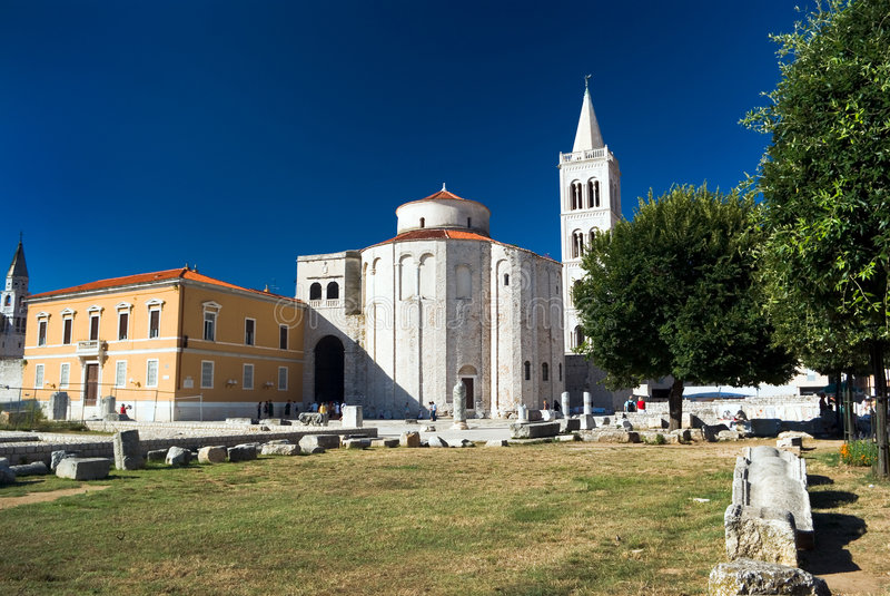 Église de rue Donat photos libres de droits