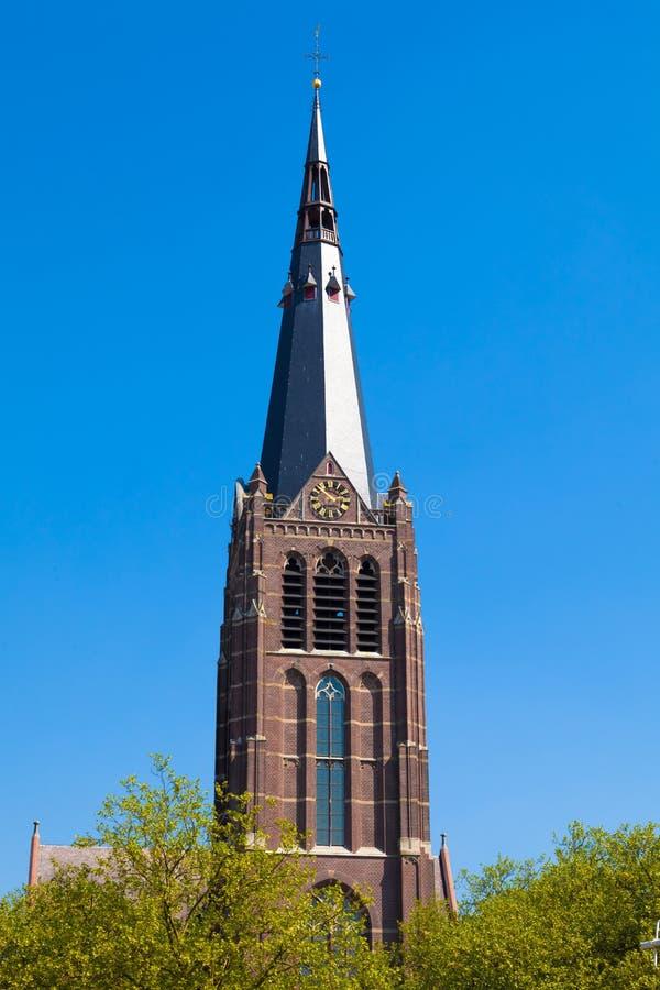 Église de rue George, Eindhoven, Hollandes image libre de droits