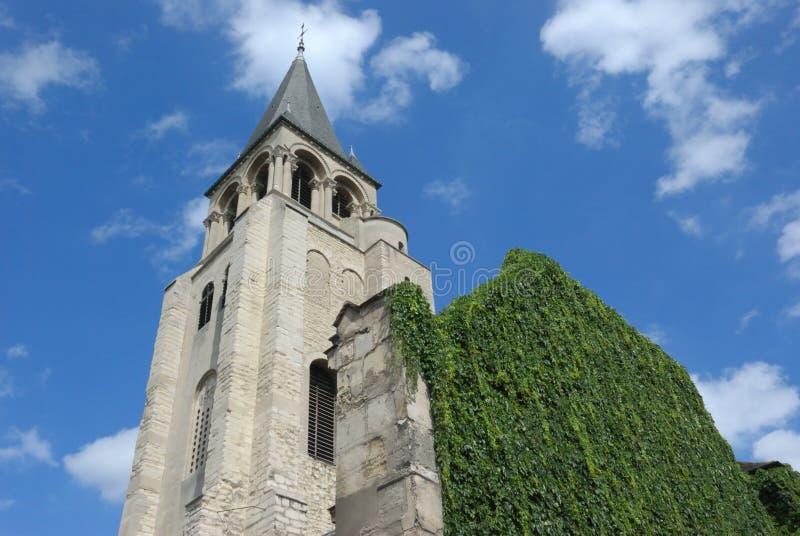 Église de rue germain, Paris image stock