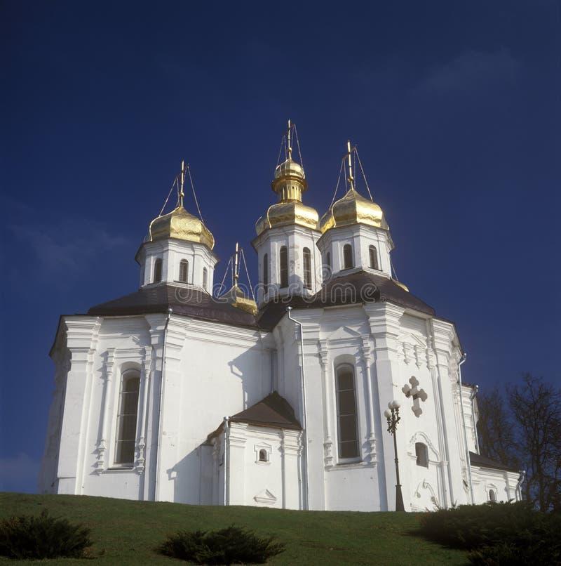 Église de rue Katherina. Chernigiv, Ukraine image libre de droits
