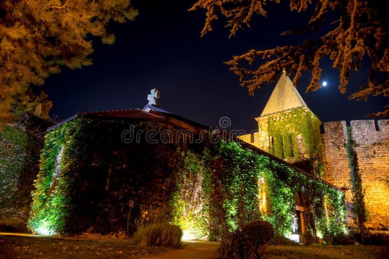Église de Ruzica à la forteresse de Kalemegdan Belgrade, Serbie images libres de droits