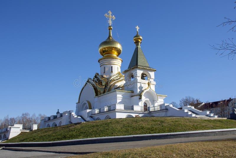 Église de séraphin de St de Sarov image stock