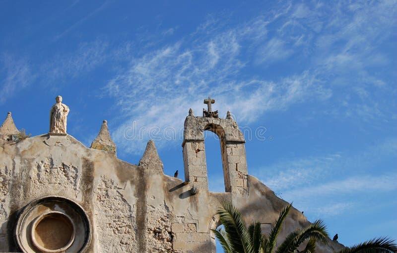 Église de S.Giovanni à Syracuse images libres de droits