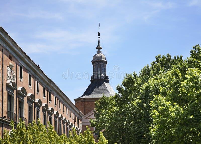 Église de Sacramento à Madrid l'espagne photo libre de droits
